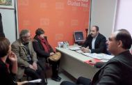 CCOO y UGT recaban el apoyo a la huelga del 8 de marzo de los grupos municipales de IU, Ganemos y Ciudadanos en el ayuntamiento de Ciudad Real