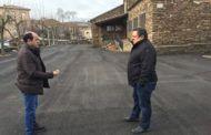 La Diputación de Guadalajara lleva a cabo obras de pavimentación y renovación de redes en Semillas, Zarzuela de Jadraque y Villares de Jadraque