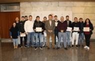 Clausura de un nuevo curso en Bargas para jóvenes de