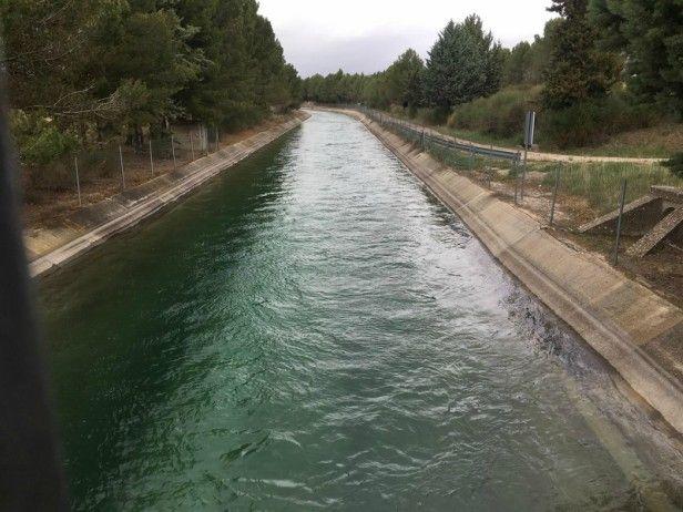 """García-Page lamenta el """"trato injusto y diferenciado"""" del Ministerio del Transición Ecológica con la región tras el último trasvase aprobado ayer"""