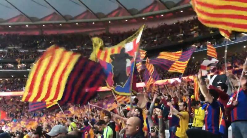 Los aplausos al Rey y al himno de España ganan a los pitos en la final de la Copa del Rey