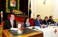La Diputación se convierte en centro neurálgico del 75 Aniversario de la Venida del Cristo Yacente a Cuenca
