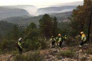 Los caminos interiores afectados por incendio de Yeste se mejorarán cuando terminen las labores de extracción de madera