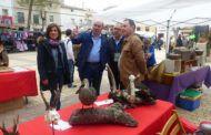 El presidente de la Diputación de Guadalajara asiste a la I Feria de la Caza organizada en Illana