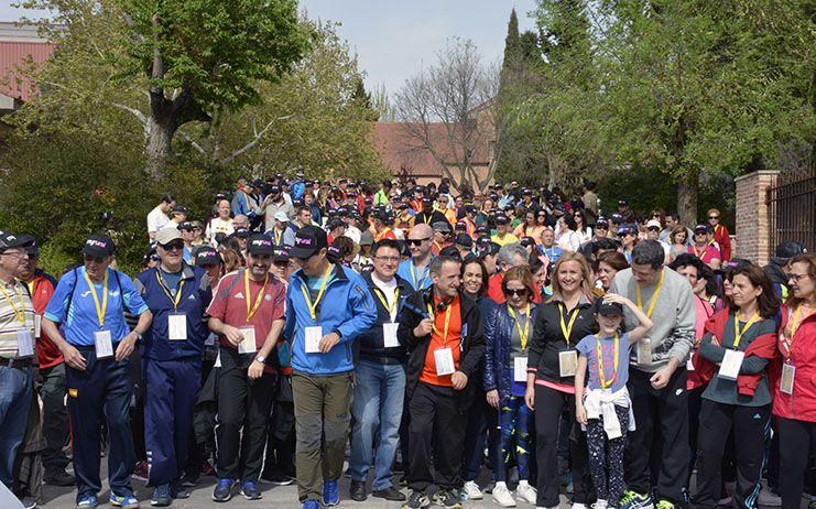 Cerca de 600 personas tomaron parte en la XXXIII Marsodeto