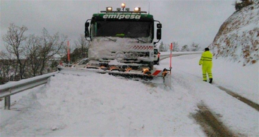 Efectivos de la UME llegan hoy a la provincia de Albacete ante el posible episodio de nevadas intensas