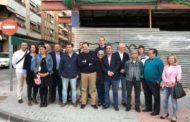 Núñez denuncia en Hellín la paralización de las obras del Centro de Salud número 1 de Hellín por culpa de Page