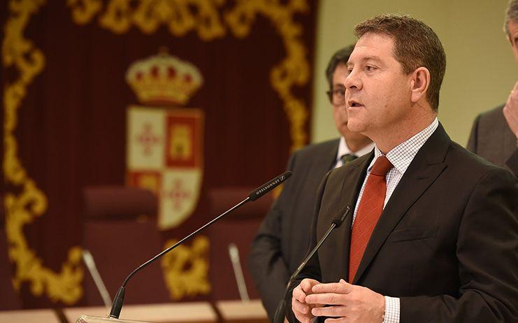 García-Page exige a Joaquim Torra una rectificación por sus insultos a los españoles antes de ser investido como presidente de la Generalitat