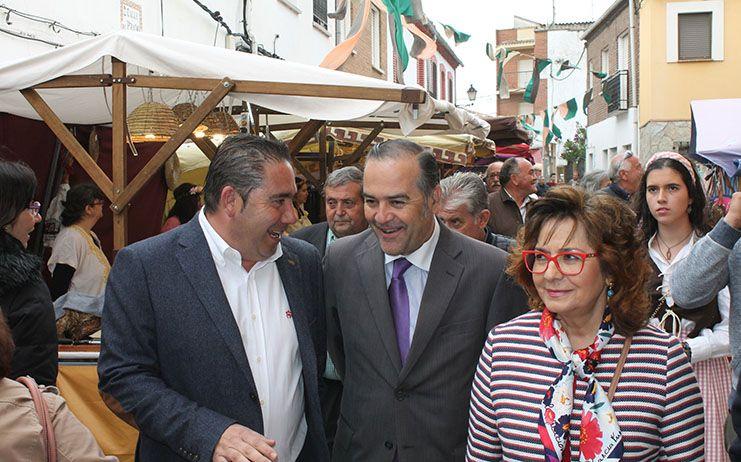 Gregorio valora las obras de emergencia para la aportación de recursos hídricos del Tajo a la Zona Regable del Canal Bajo Alberche en Talavera de la Reina y Pepino