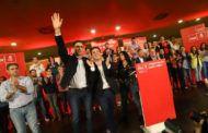 Más de 400 militantes socialistas acompañaron a Pedro Sánchez en su acto público de Albacete