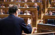 """Rajoy critica la moción de censura """"a cualquier precio"""" de Sánchez y pretende agotar la legislatura"""