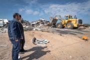 El Ayuntamiento de Toledo lleva cabo el desmantelamiento de uno de los sectores chabolistas del Cerro de los Palos