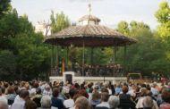 La Banda Municipal de Música ofrece un concierto en el Parque San Julián (Cuenca) por el Día de las Fuerzas Armadas