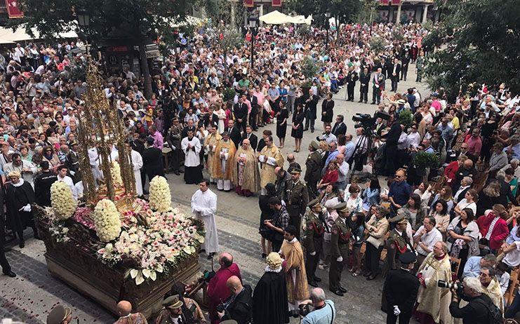 La Real Academia incorpora una procesión del Corpus de 1967 a su Filmoteca Histórica Toledana