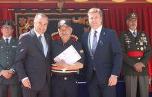 Gregorio valora el papel de los voluntarios de Protección Civil porque contribuyen