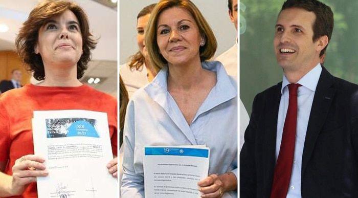 Los aspirantes a suceder a Rajoy se lanzan a la carretera