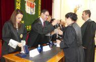 Prieto acompaña al Colegio de Abogados de Cuenca en el Acto de Jura de 27 nuevos letrados y el reconocimiento a 46 abogados por sus 25 años de antigüedad