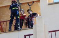Los bomberos de Castilla-La Mancha perfeccionan sus técnicas de rescate en altura en la Escuela de Protección Ciudadana