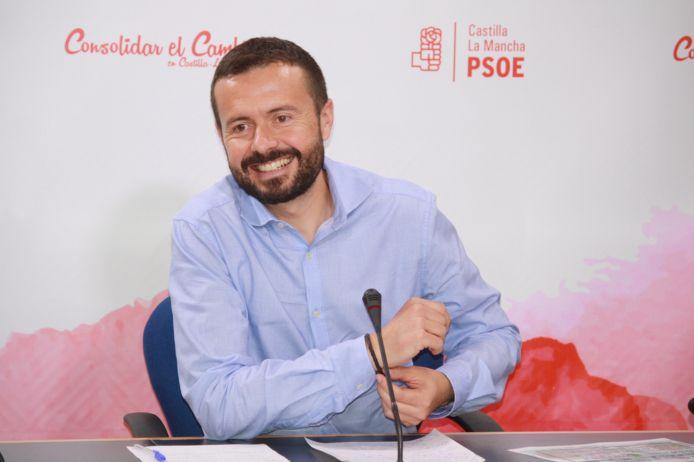 """Escudero: """"Mientras García-Page disminuye las listas de espera e invierte en educación, los dirigentes del PP están en la crispación y los insultos"""""""
