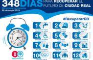 """Rodríguez: """"Ciudad Real atraviesa un bache del que saldremos dentro de 348 días"""""""