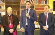 El reconocimiento a los trabajadores recién jubilados marcan la festividad del Sagrado Corazón de Jesús de la Diputación