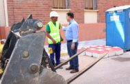 El alcalde afirma que las obras de remodelación de las calles del barrio Industria mejorarán su accesibilidad, funcionalidad, seguridad y estética