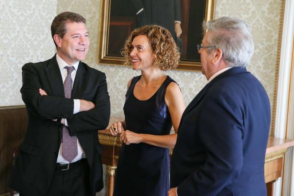 Page trata con Meritxell Batet las demandas de Castilla-La Mancha en materia de Política Territorial y Función Pública