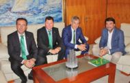 Eurocaja Rural traslada al Ayuntamiento de Alicante su implicación y vocación de servicio