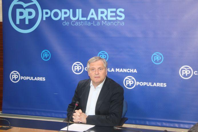 """Cañizares asegura que Sánchez, Page y Zamora son lo mismo, """"una máquina de acceder al poder a cualquier precio"""""""