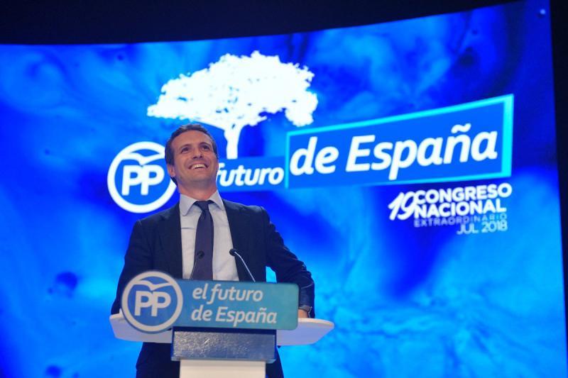 Pablo Casado gana las primarias y se convierte en el nuevo presidente del PP