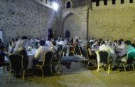 Bolaños vuelve a promocionar el Castillo mediante su tradicional cena temática con la Encomienda de Bolaños y sus comendadores como eje temático