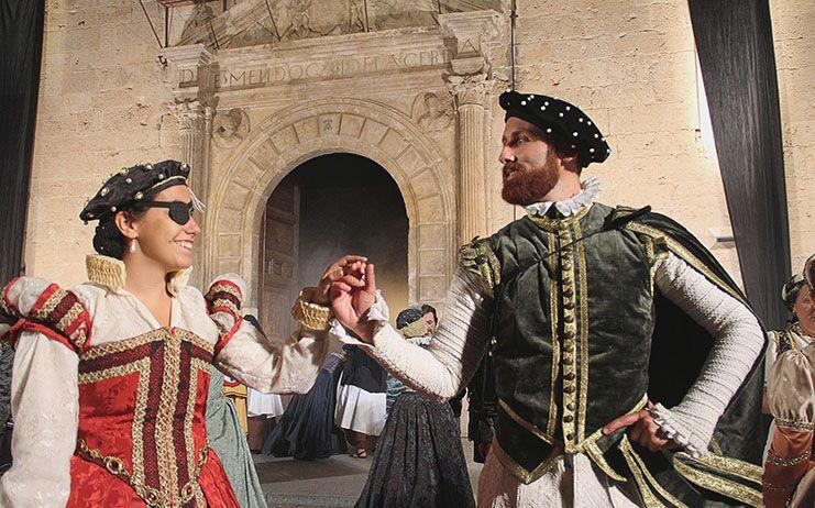 Un concierto en La Colegiata y el anuncio de boda de Ana de Silva con Alonso Pérez de Guzmán el Bueno abren el XVII Festival Ducal de Pastrana