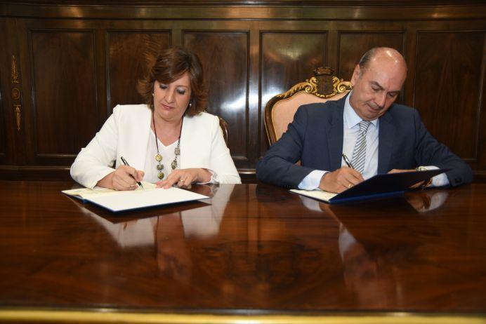 La Diputación de Guadalajara y la Junta firman un convenio para que los ayuntamientos de la provincia puedan beneficiarse del Plan de Empleo Regional