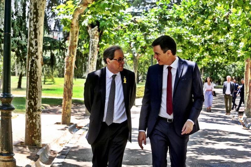 Torra dejará de sostener a Sánchez en noviembre si no ofrece un referéndum