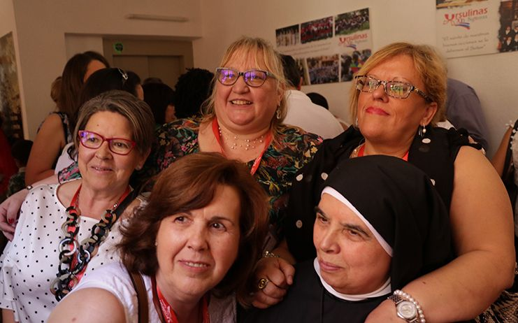 Las antiguas alumnas de las Madres Ursulinas han celebrado el Bicentenario de la institución en Siguenza