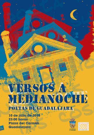 Nueva edición de Versos a Medianoche Poetas de Guadalajara