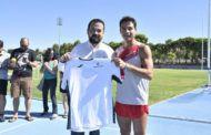 El Gobierno regional felicita a Cristian López por la consecución del record Guinness en 400 metros lisos de carrera hacia atrás, que ha rebajado en cinco segundos