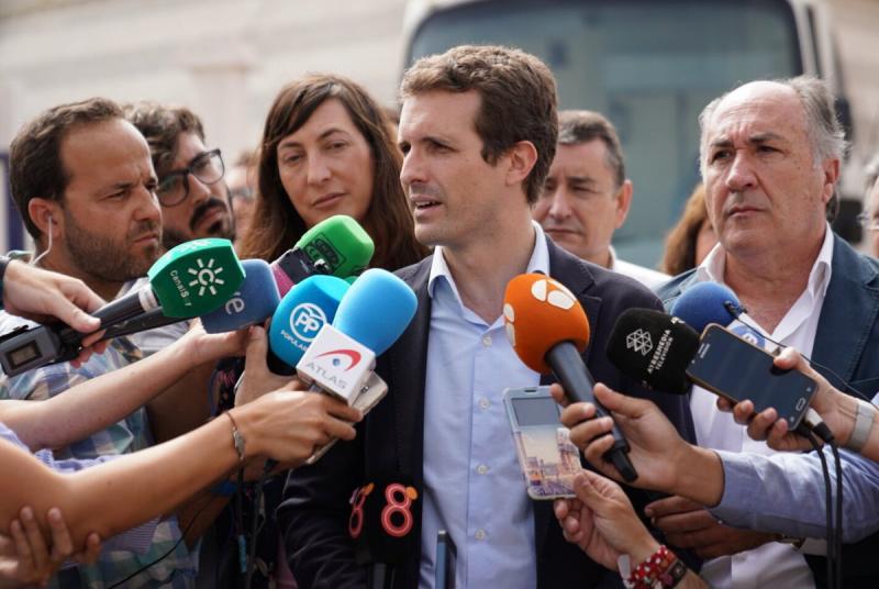 """Casado: """"Pese a quien pese, el cambio se va a producir en Andalucía"""""""