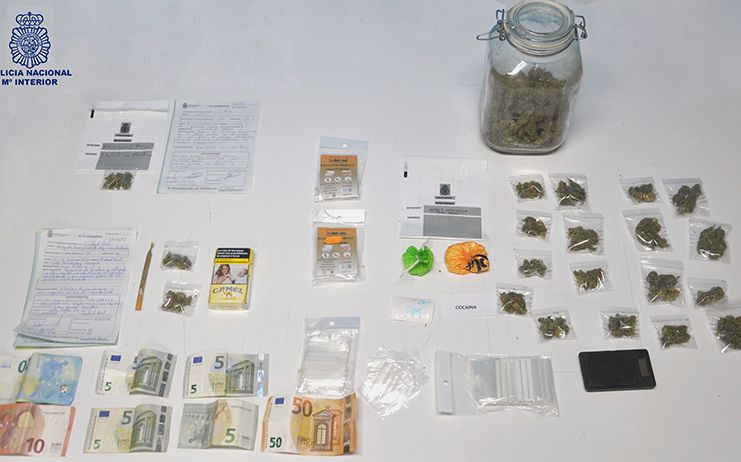 La Policía Nacional desmantela un importante punto de venta de droga en Ciudad Real