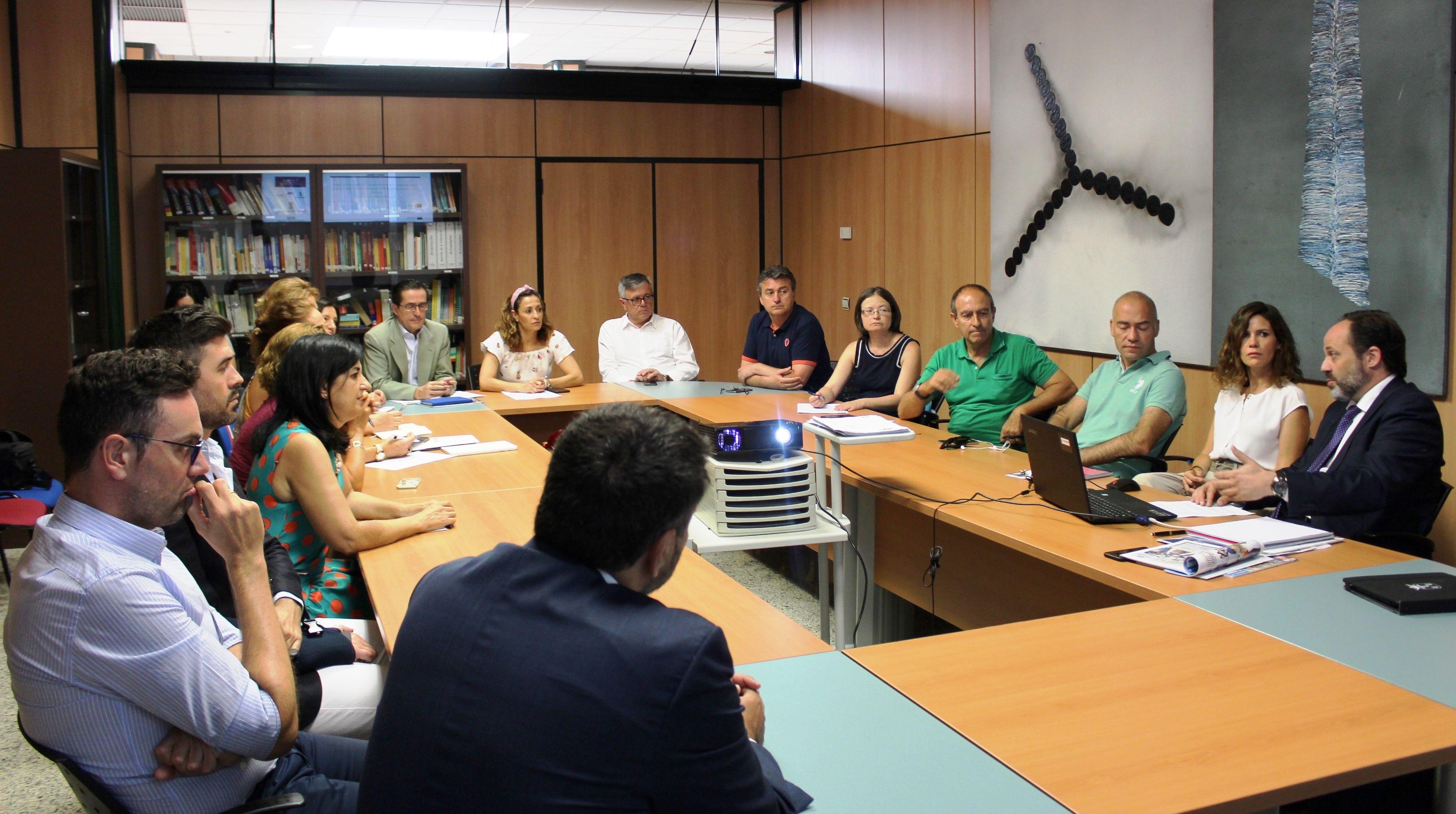 González de la Aleja anima a los empresarios albaceteños a participar en la III Feria IMEX Castilla-La Mancha