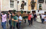 Mariscal preside la procesión de San Roque por las calles del Casco Antiguo