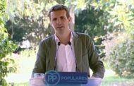 """Casado apela al """"voto urgente y necesario"""" para echar a Sánchez"""