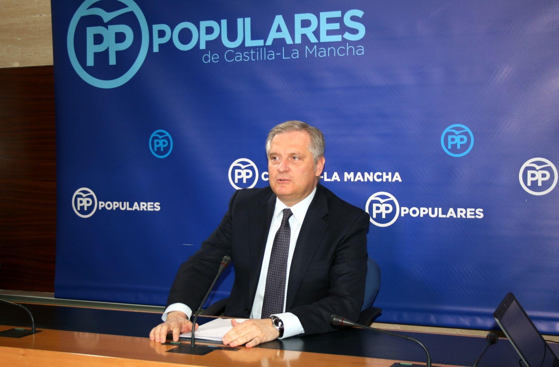 Cañizares señala que Sánchez suspende a Page por su gestión económica, que nos sitúa como una de las regiones con más déficit de España