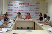 Mejorar las condiciones laborales, recuperar derechos y el valor de la negociación colectiva arrebatados por la Reforma Laboral: objetivos irrenunciables de CCOO en la provincia de Toledo