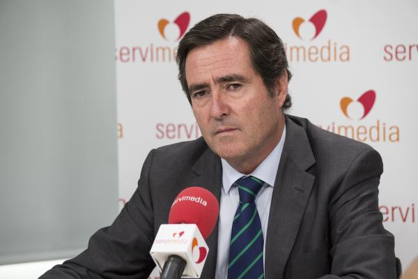 Antonio Garamendi anuncia oficialmente su candidatura a la presidencia de CEOE