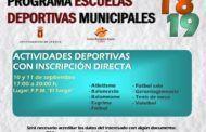 Las inscripciones directas a las actividades deportivas municipales de Cuenca se pueden realizar hoy y mañana