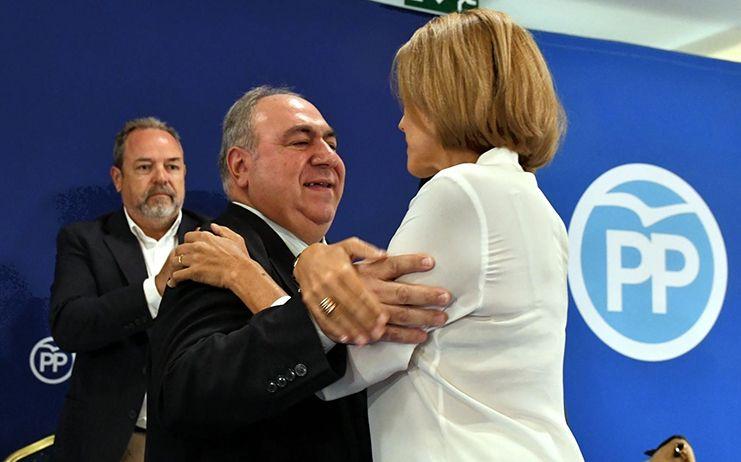Tirado cree que Núñez va a concitar la unidad de las organizaciones provinciales del PP y será un candidato de consenso