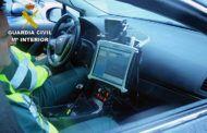 La Guardia Civil investiga al conductor de una motocicleta que circulaba por una carretera autonómica a 220 Km/h