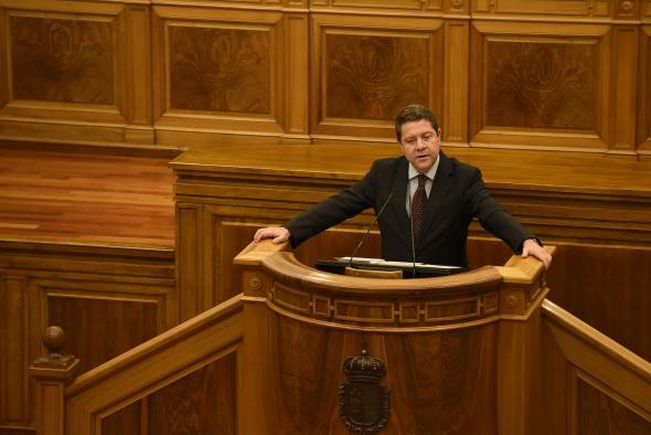 """Núñez afirma que si Page quiere parar los pactos con Bildu y ERC o la Ley Celaá lo tiene """"muy fácil"""": """"Que dé orden a sus 9 diputados nacionales votar en contra"""""""