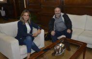 Pedrosa intercambia impresiones con Tolón sobre el papel de la capital de CLM en creación de empleo